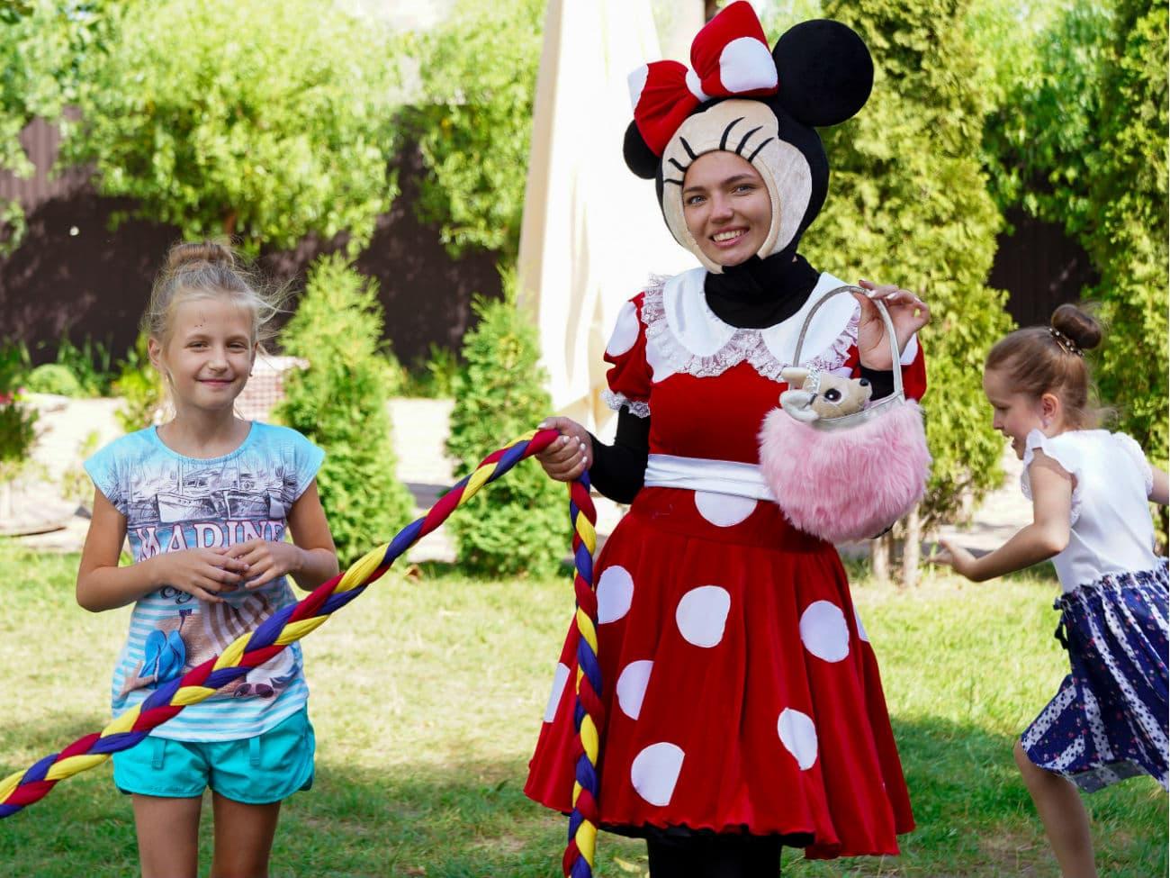 Детский день рождения в стиле «Минни и Микки Маус»