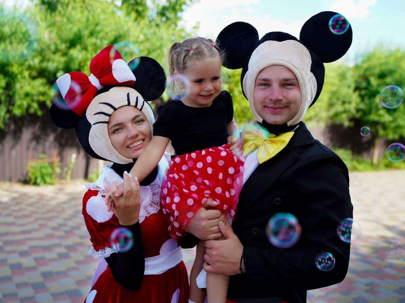 День рождения ребенка в стиле «Минни и Микки Маус»