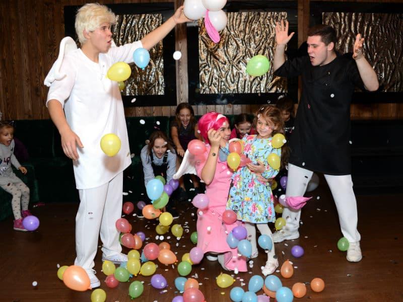 Детский день рождения с Ангелами бэби от Event агентства Syrup - 112018