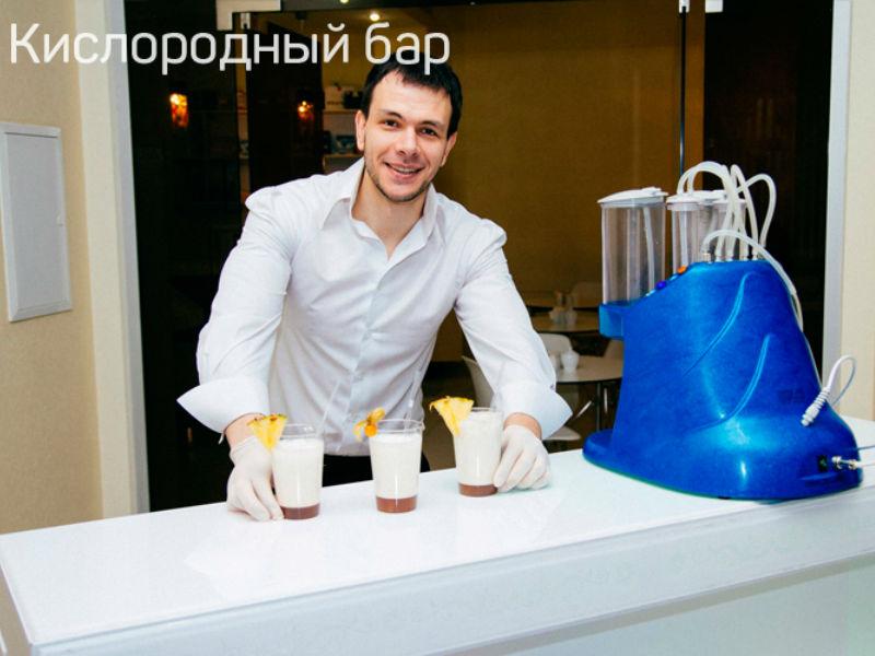 Бармен шоу Кислородный бар