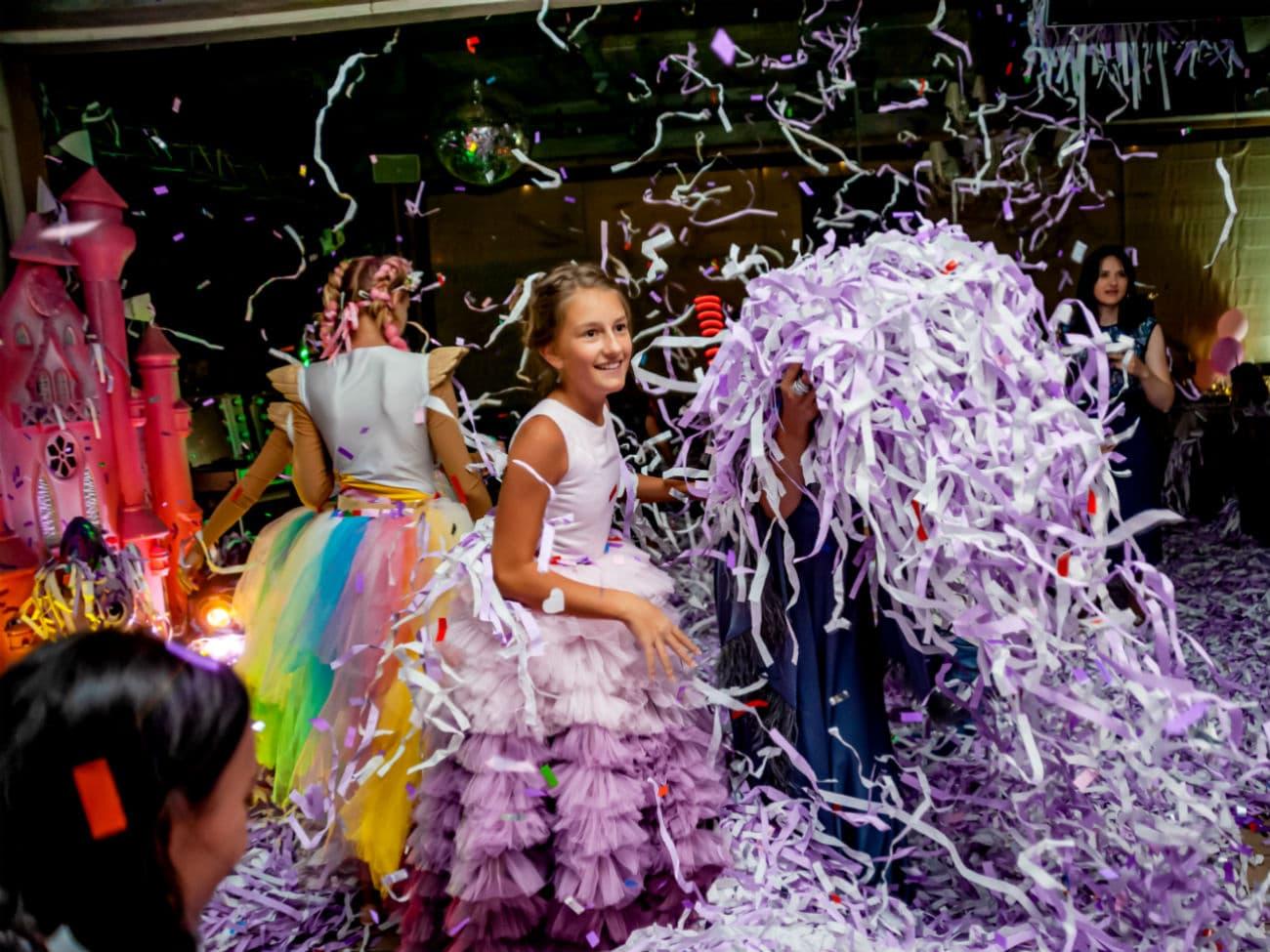 Бумажное шоу для детей на день рождения — 022020