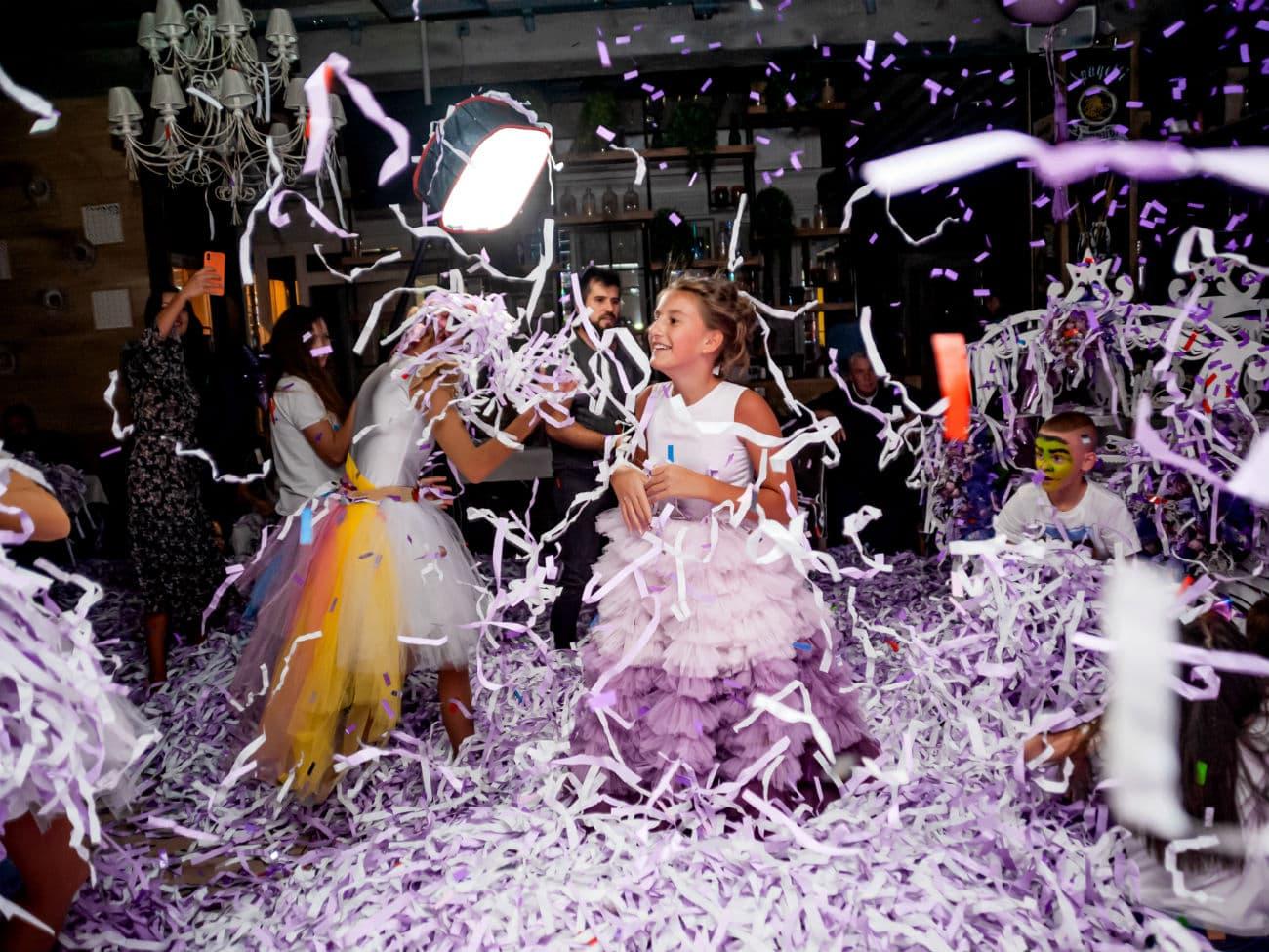 Бумажное шоу на день рождения ребенка — 022020