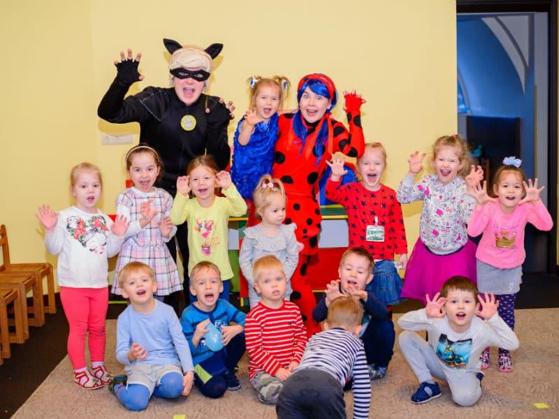 Программа день рождения ребенка с Леди Баг и Супер Котом
