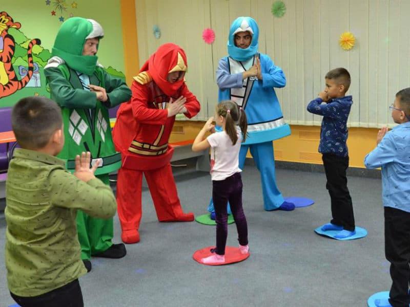 Детский день рождения с Лего Ниндзяго (Lego Ninjago) в детском клубе Именинник