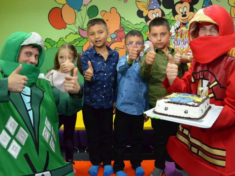Аниматоры на детский праздник Лего Ниндзяго (Lego Ninjago)