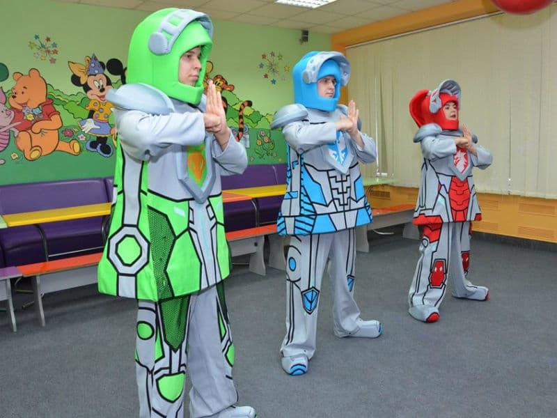 Аниматоры на детский праздник Лего рыцари (Nexo Knights)