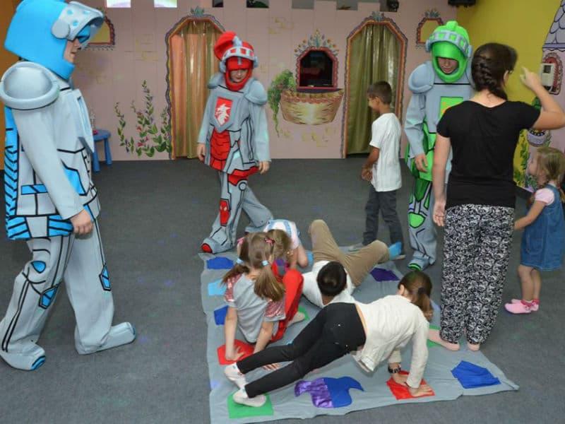 Детский день рождения с Лего рыцарями (Nexo Knights)