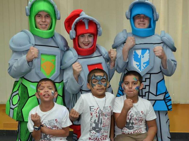 Отпраздновать детский день рождения с Лего рыцарями (Nexo Knights)