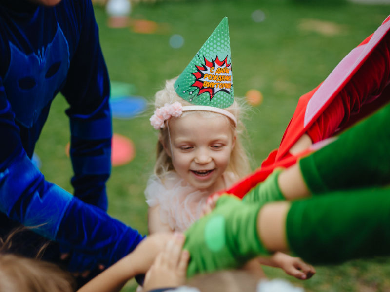Программа день рождения ребенка с Героями в масках - 08.2018