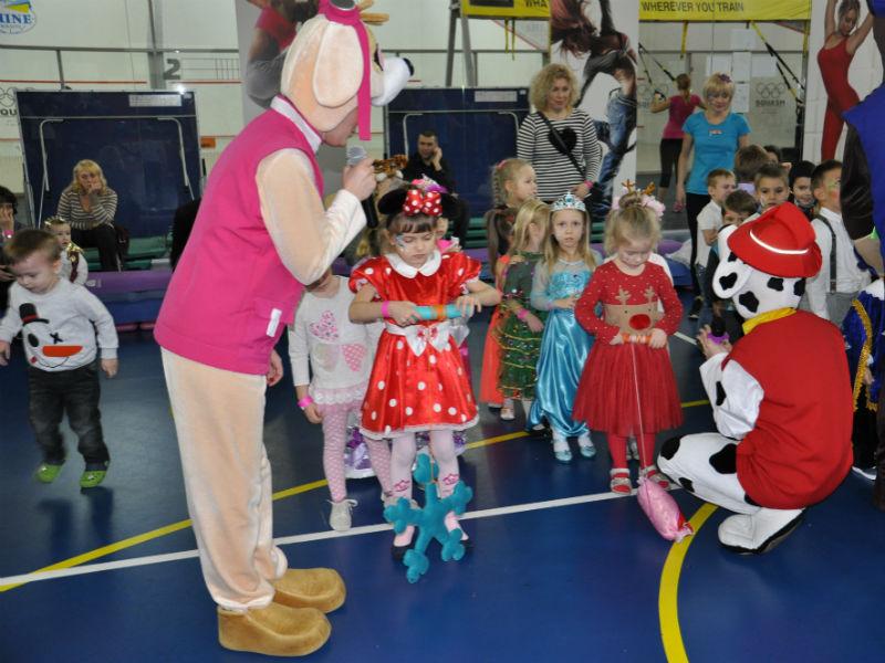 Новый год для детей в Спортлайфе