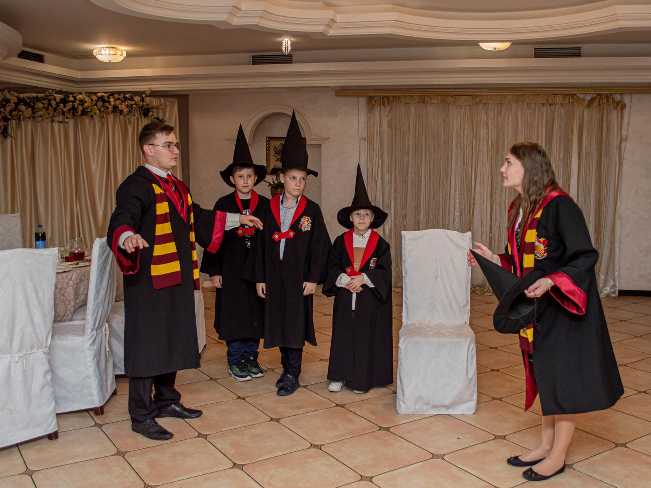 Игры Гарри Поттер и Гермионы