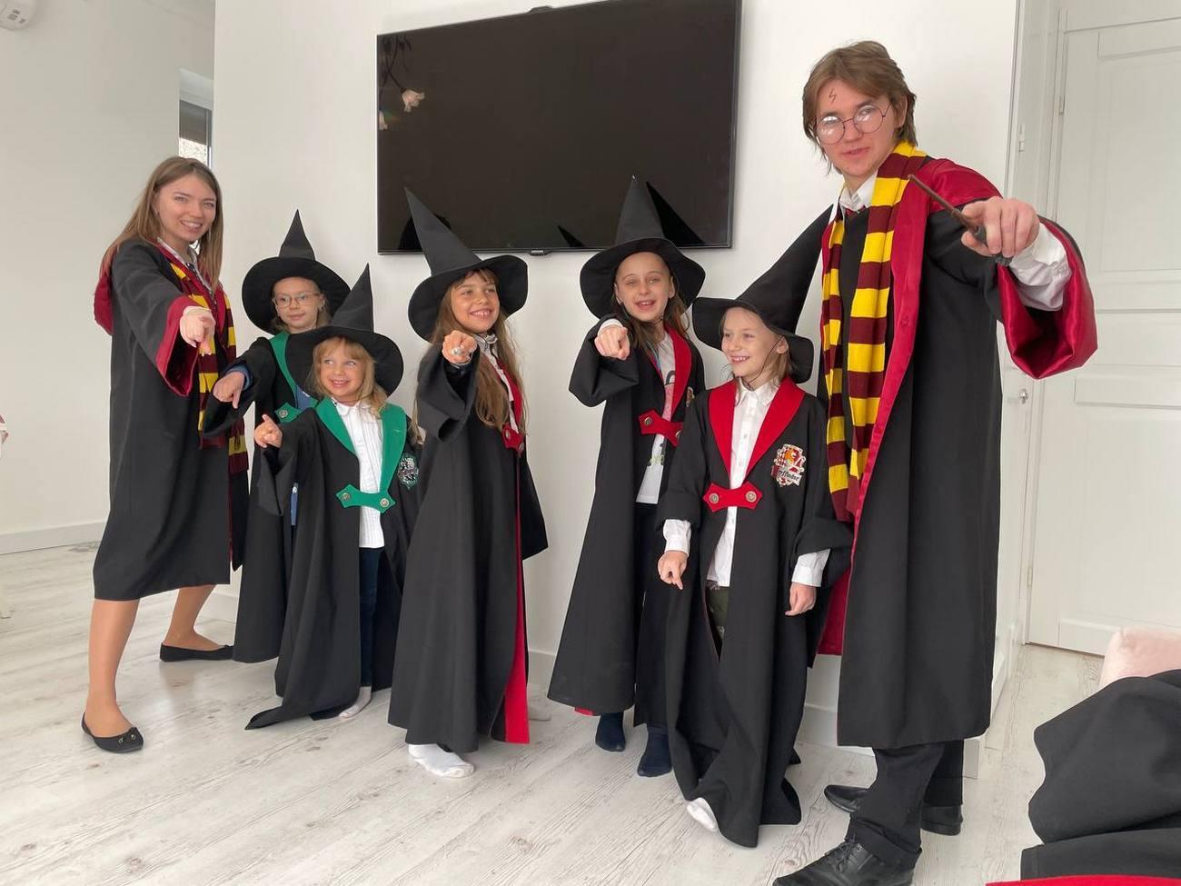 День рождения девочки в стиле «Гарри Поттер»