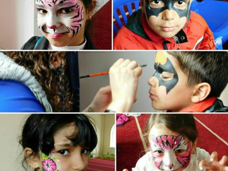 Аквагрим на детский праздник
