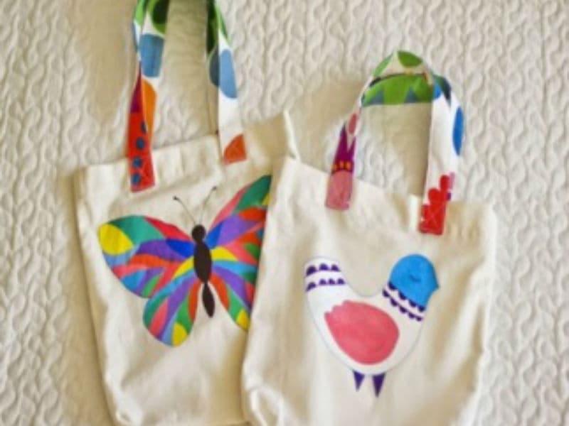 Арт сумки - роспись сумок