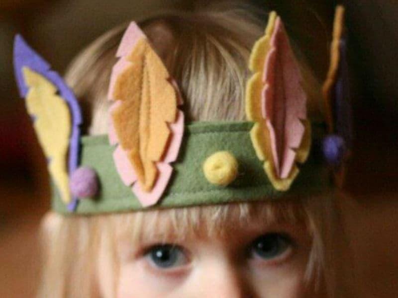 Мастер-класс для девочек украшения на голову и аксессуары своими руками