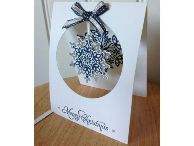 Изготовление рождественской открытки