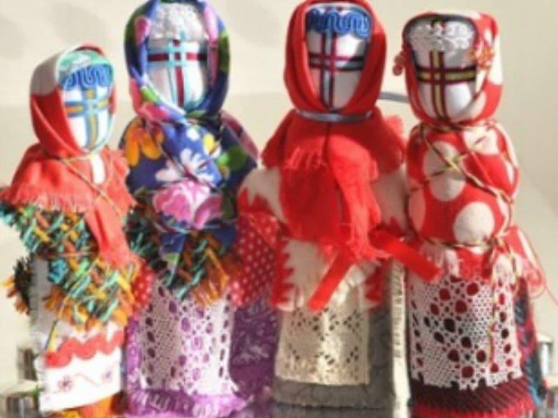 Кукла мотанка своими руками - мастер-класс Киев