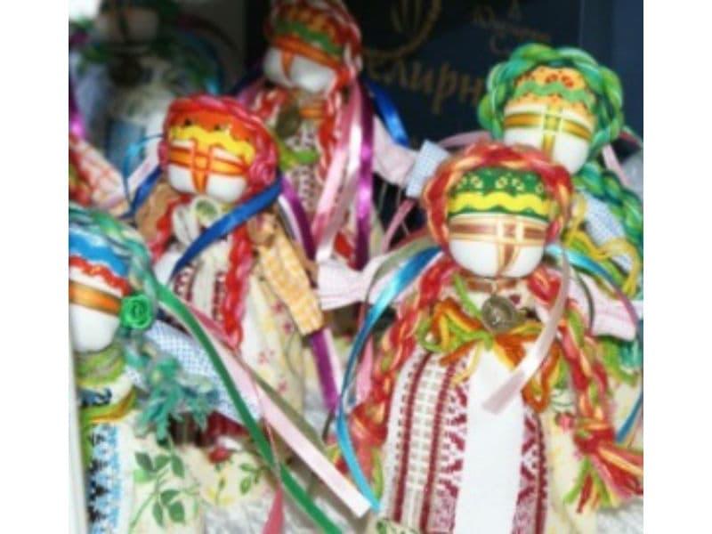Поделки своими руками - куклы мотанки от Ивент агентства Syrup