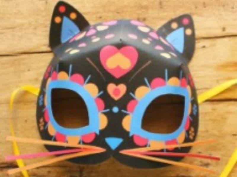 Как сделать маску на хэллоуин – мастер-класс