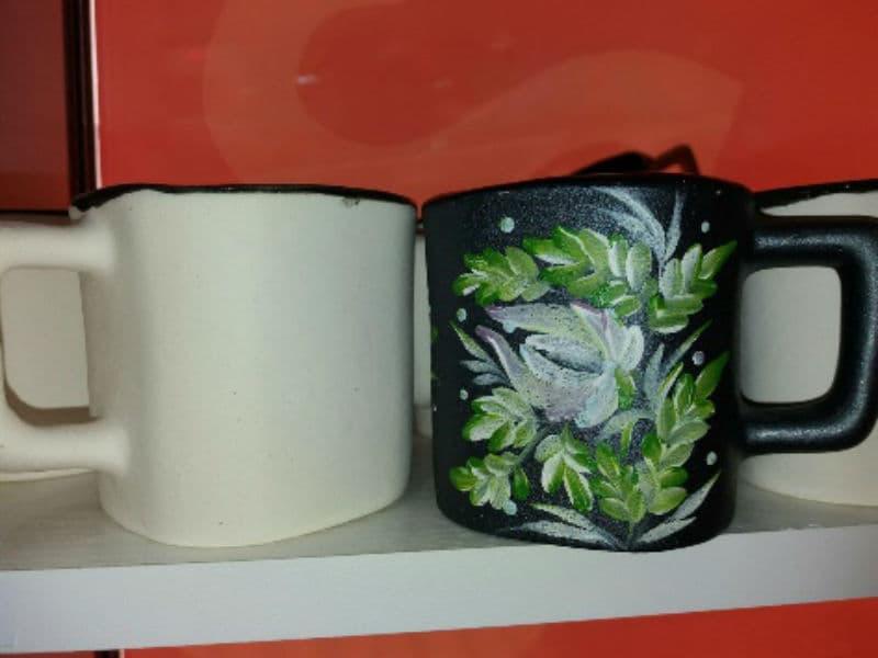 Роспись керамических чашек