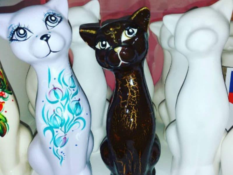 Роспись керамических статуэток