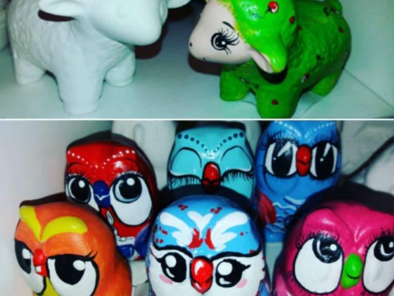 Мастер-класс для детей Роспись керамических изделий акриловыми красками