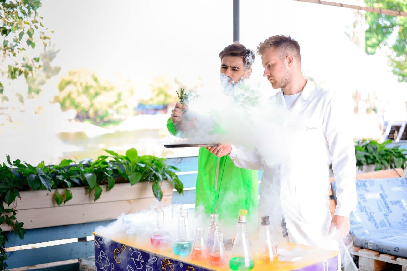 Химическое шоу в Киеве