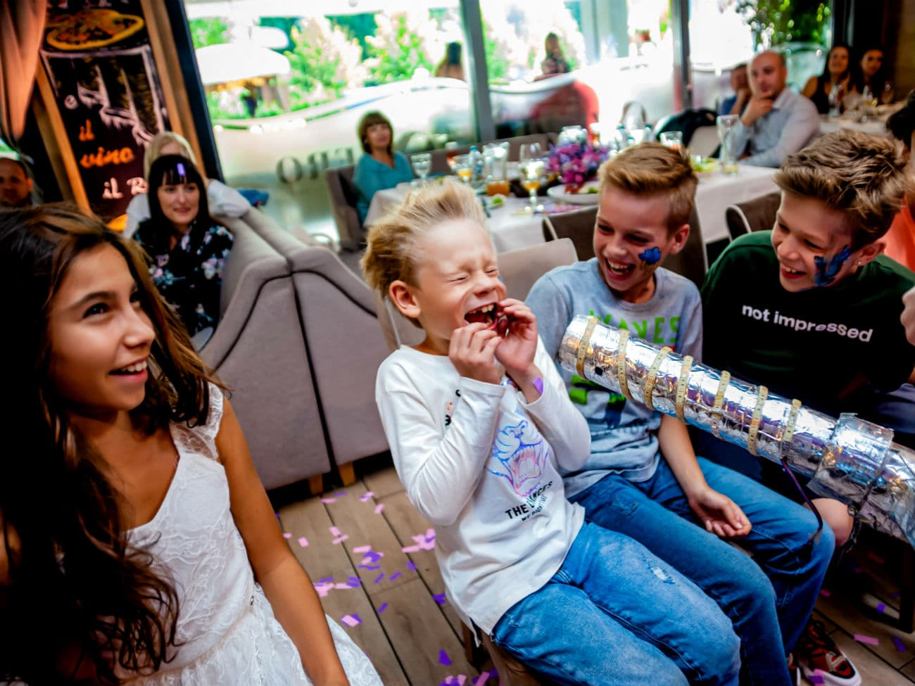 Научное шоу для детей в кафе - 0220