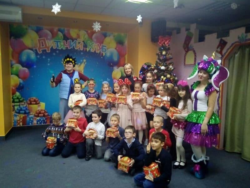 Поздравления с Новым годом в Детском Клубе Именинник