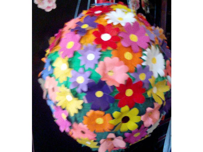 Пиньята на день рождения шар с конфетами