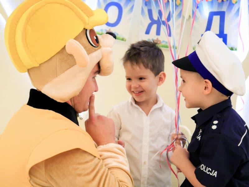 Щенячий патруль для детей от ивент агентства