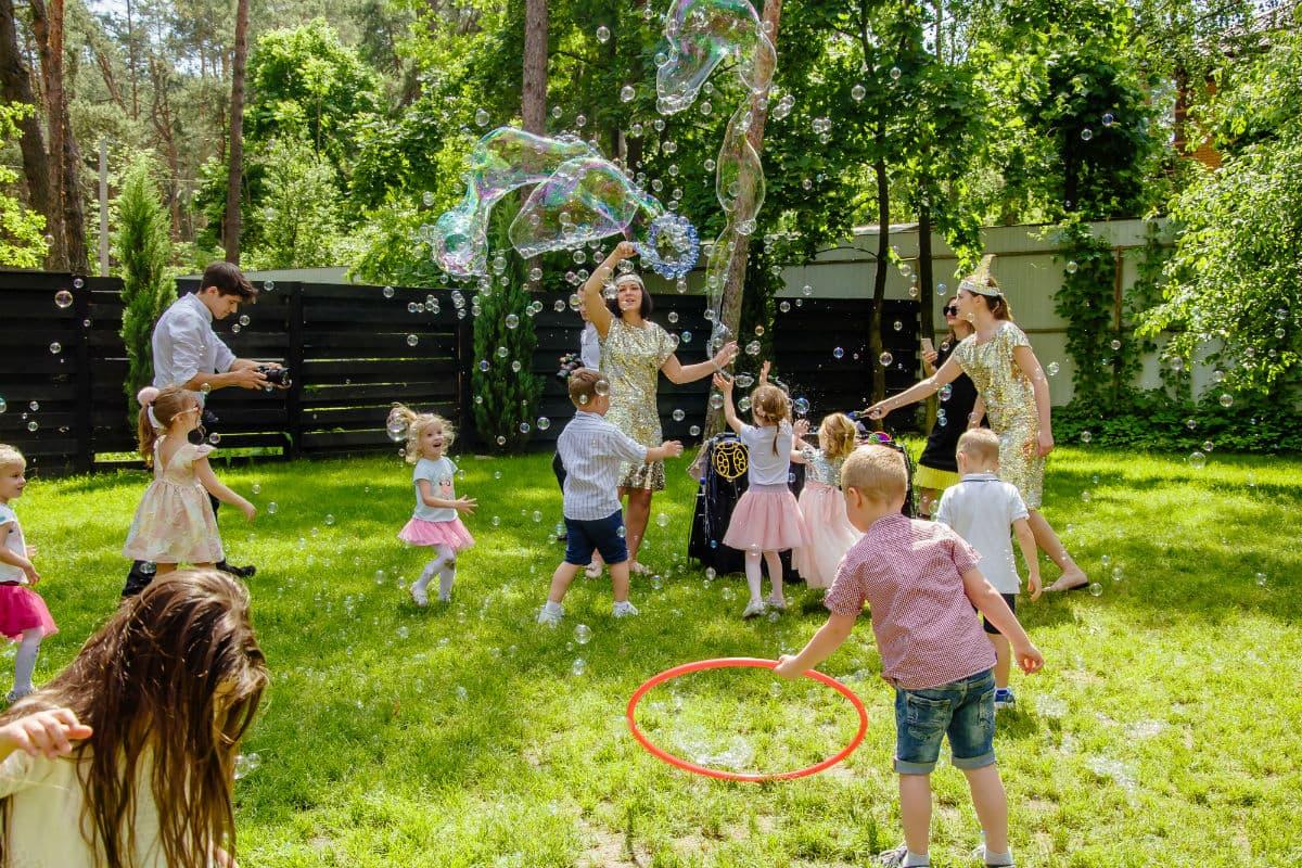 Мыльные пузыри шоу для детей - Организация мероприятий