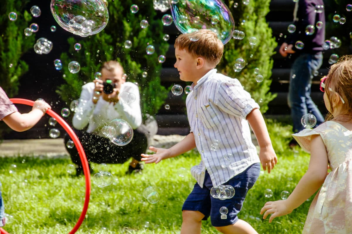 Мыльное шоу для детей - Организация праздников