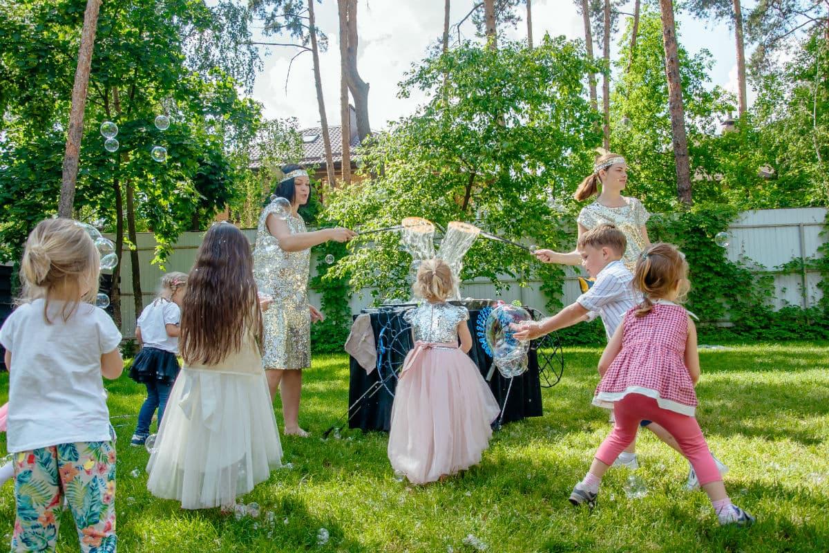 Мыльные пузыри шоу - Организация детских праздников