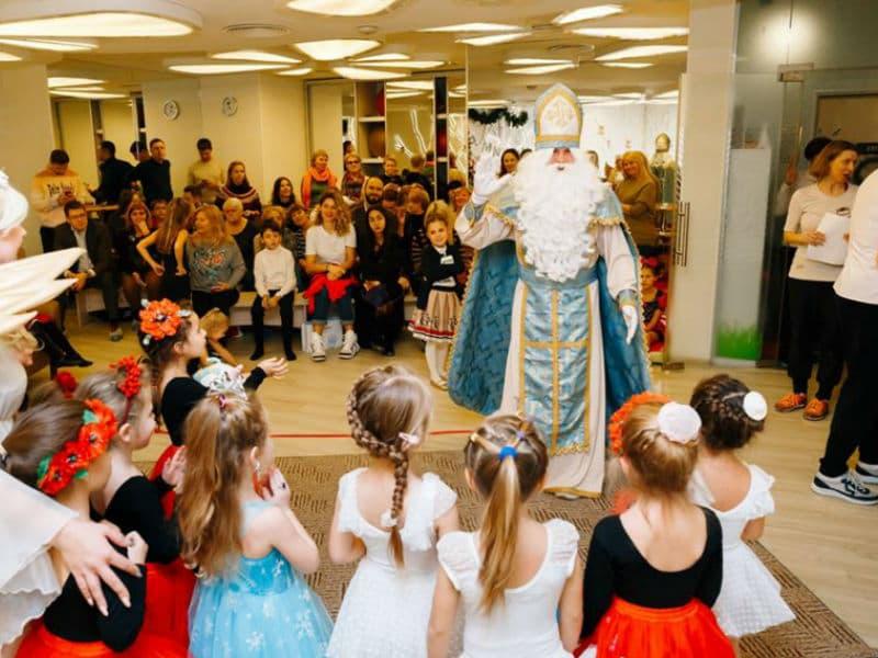 Святой Николай для детей на праздник