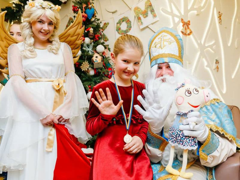 Праздник с аниматорами на День Святого Николая