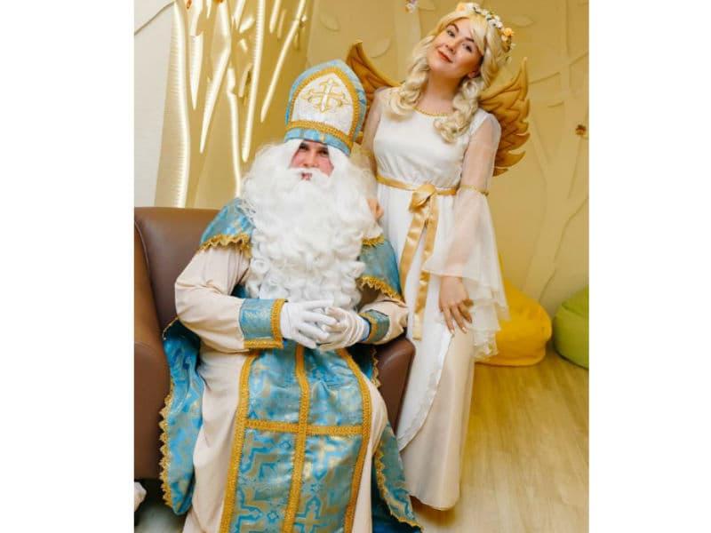 Святой Николай и его помощница Ангел