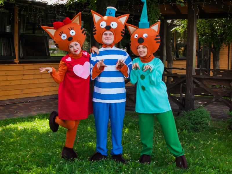 Детские аниматоры на день рождения Три кота