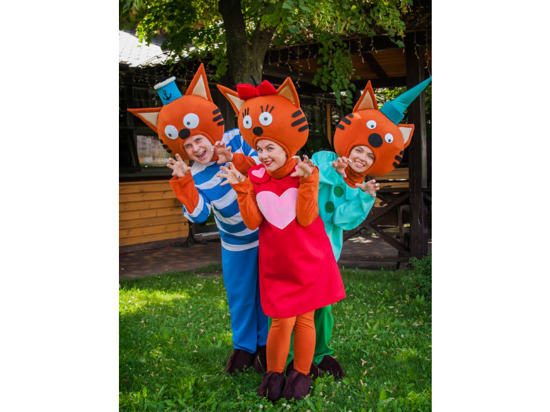 День рождения ребенка с аниматорами от Ивент агентства «Syrup» Три кота
