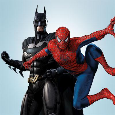 Супергерои: Spider-Man. Бэтмен. Капитан Америка. Супермен