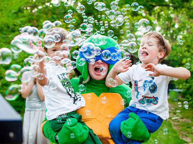 День рождения ребенка с Черепашками-ниндзя