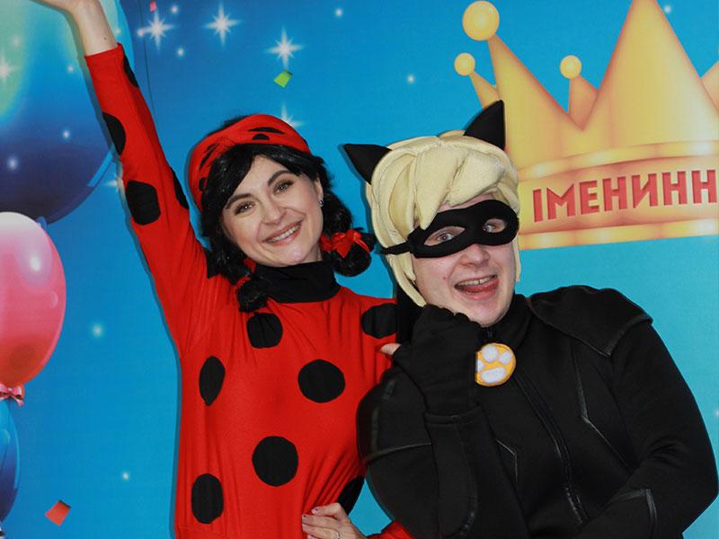 Детский день рождения с Леди Баг и Супер Котом от Ивент агентства «SYRUP»