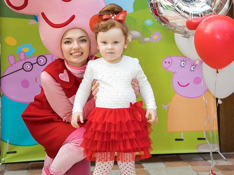 День рождения ребенка в формате Свинка Пеппа