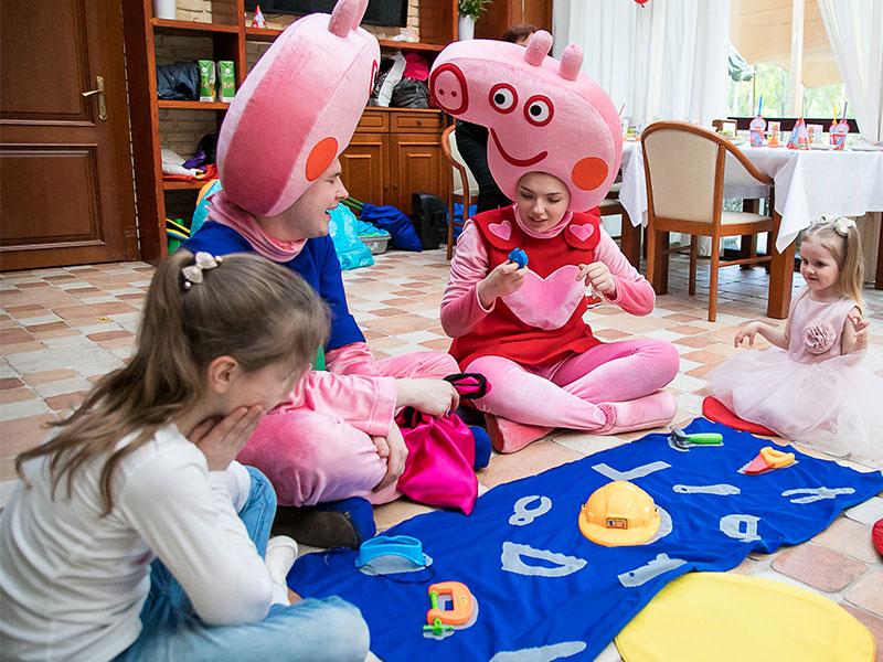 Детский праздник в стиле Свинка Пеппа