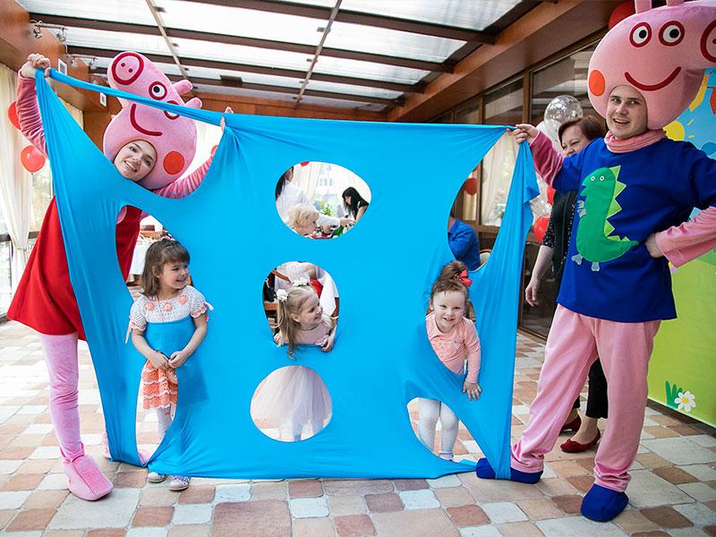 Детский день рождения в стиле Свинка Пеппа от Ивент агентства «SYRUP»