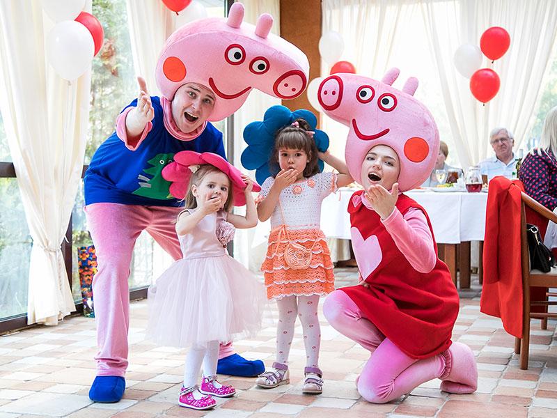 Отпраздновать день рождения ребенка в стиле Свинка Пеппа
