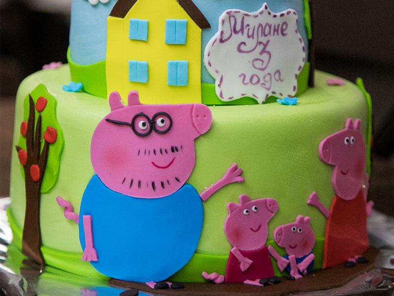 Аниматоры Свинка Пеппа на день рождения ребенка
