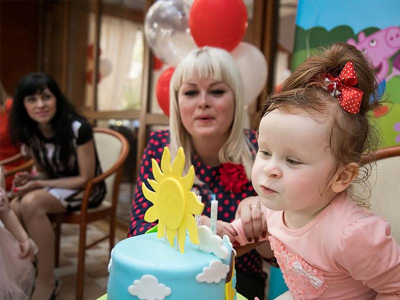 Аниматоры Свинка Пеппа на детский день рождения