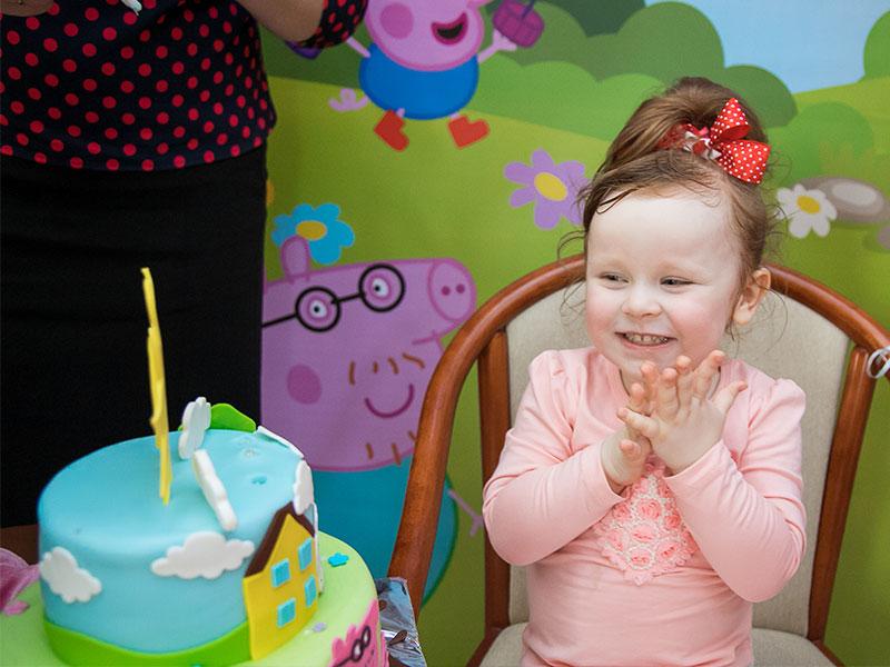 развлечения на день рождения ребенка в стиле Свинка Пеппа
