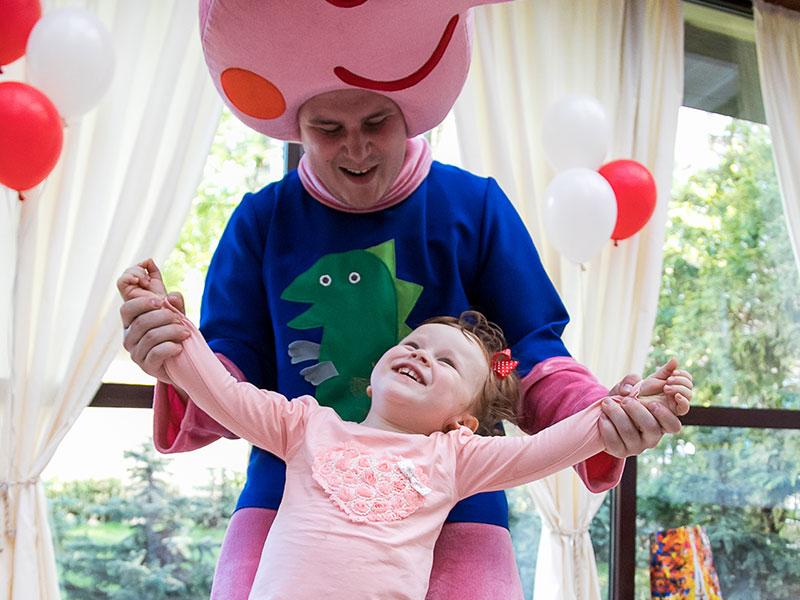 Аниматоры Свинка Пеппа на детский праздник